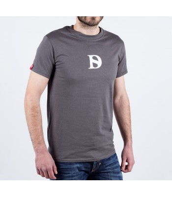 T-shirt / man / D logo (grey)