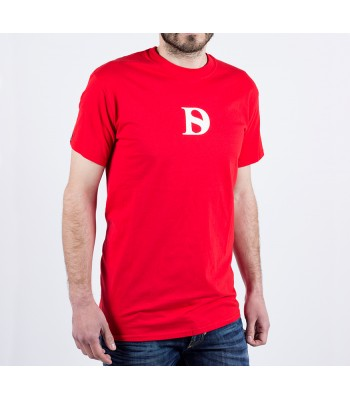 T-shirt / man / D logo (red)