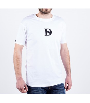 T-shirt / man / D logo (white)