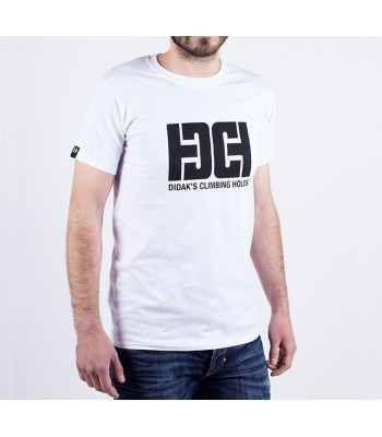 T-shirt / man / DHC logo (white)