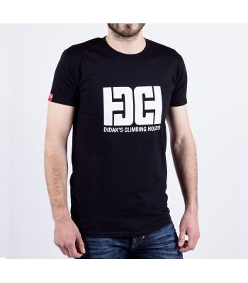 T-shirt / man / DHC logo (black)