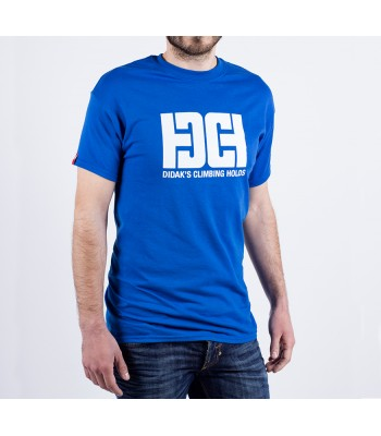 T-shirt / man / DHC logo (blue)