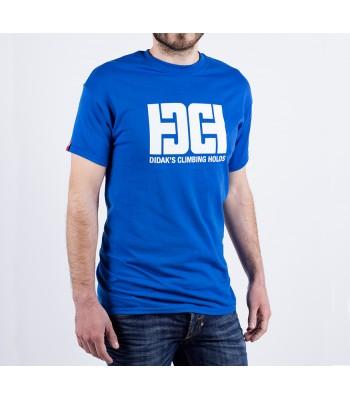 T-shirt / man / DHC logo (blue)