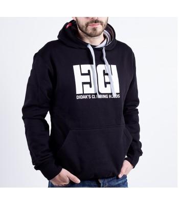 Hoodie / man / DHC logo (black)