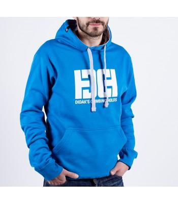 Hoodie / man / DHC logo (blue)