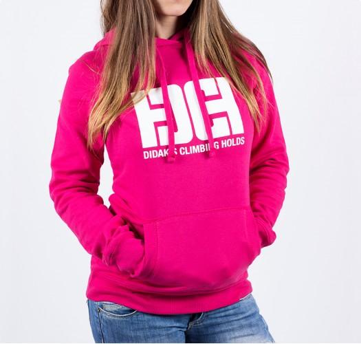 Hoodie / woman / DHC logo (pink)