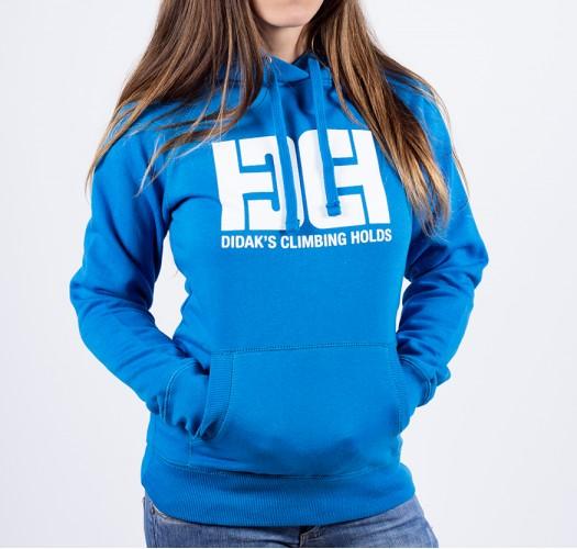 Hoodie / woman / DHC logo (blue)
